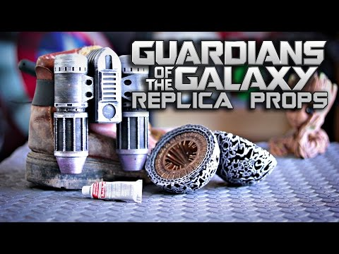 Guardians of the Galaxy Replica Props | Star-Lord Cosplay | How To