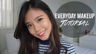Everyday Makeup And Hair Tutorial Western Korean Japanese Products Titan Tyra