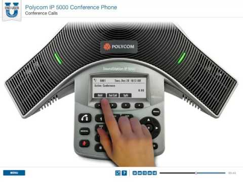 Polycom IP 5000 Conference Phone - Conference Calls