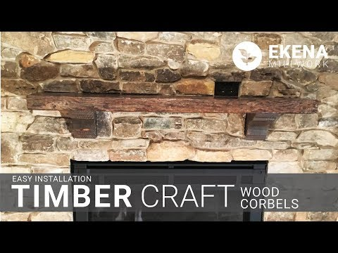Ekena Millwork Corbels (Rustic Wood)