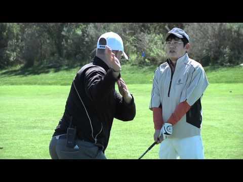 Mr. Lee Plays Golf