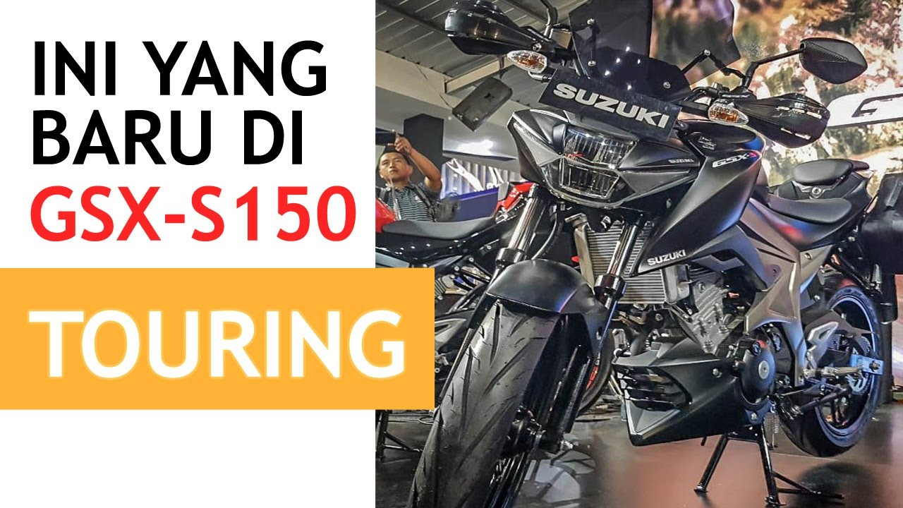 Harga Dan Tampilan Suzuki Gsx S150 Touring Indonesia Youtube