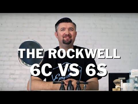 Razor Emporium Wet Shave Showdown: The Rockwell 6C vs 6S Adjustable Double Edge System Razors
