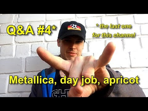 What do I hate about Metallica? | Q&A + Vlog (feat. apricot trees)