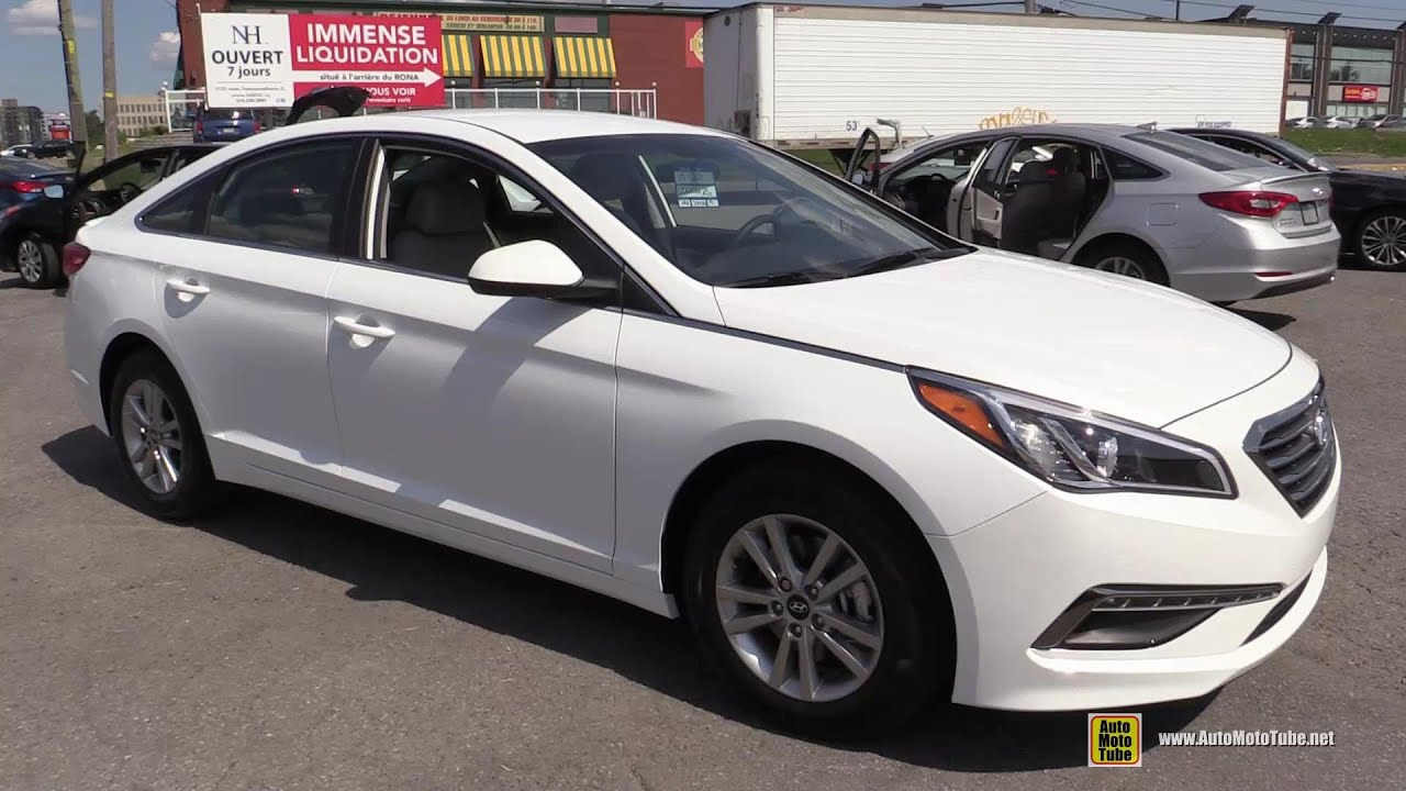 2015 Hyundai Sonata GL Exterior And Interior Walkaround