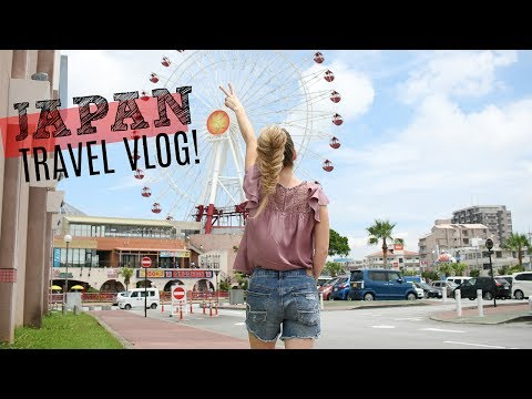 Traveling 27 Hours to Japan | Okinawa Vlog 1