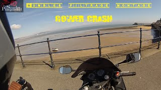 Mumbles filtrage montage, Gower crash!