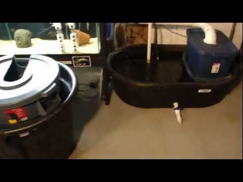 My Aquarium Sump and Filter Upgrade DIY How To