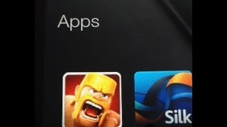 install clash of clans to the kindle fire hd hdx