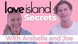 Arabella told off by producers Love Island Secrets with Arabella and Joe