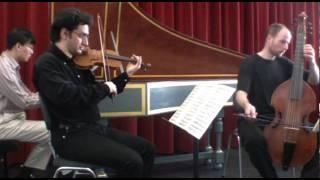 Dietrich Buxtehude-Triosonate Nr.5 in C-dur, BuxWV256, 3. Largo 4. Allegro
