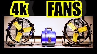 4K Fan Sound of Dual Fan Noise and Floor Fan 10 hours of Fan White Noise For Sleeping Fans