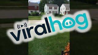 Cops Called On Kids Mowing Lawn || ViralHog