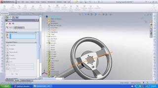 SolidWorks FSAE Steering Assembly  with Edit Component