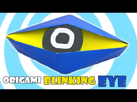 Learn How to Make an Origami Blinking Eye   360x480