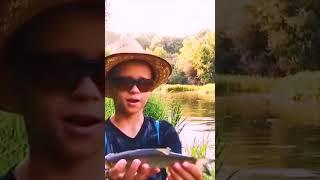Поймал голавля на самый уловистый воблер Ловля голавля на реке Оке рыбалка с Егором shorts