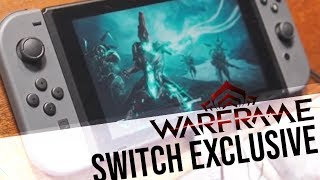 EXCLUSIVE WARFRAME SWITCH GAMEPLAY + REBECCA / STEVE SINCLAIR INTERVIEW