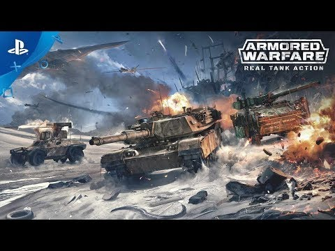 Armored Warfare - Announcement Trailer | PS4