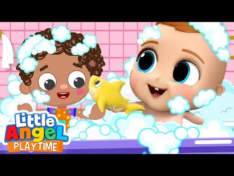 Baby John's New Best Friend | Pin Pon | Little Angel Kids Songs & Nursery Rhymes
