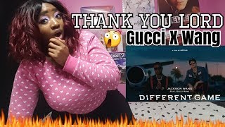 Jackson Wang - Different Game (Teaser 1) ft. Gucci Mane Reaction Video