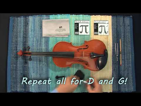 How To Change Your Violin Strings Like A Professional!