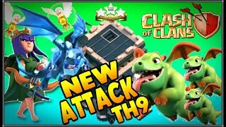 NUEVO SUPER ATAQUE DE TH-9 QW+BABY'S Y DRAGON ELÉCTRICO||CLASH OF CLANS guillenlp28