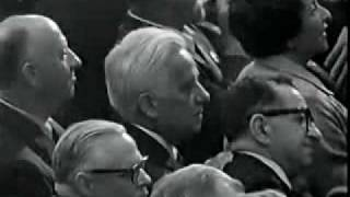 """Nelson Rockefeller denounces Republican """"extremists"""" at the 1964 Republican National Convention"""