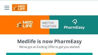 Medlife Permanently Closed| Medlife - Pharmeasy Better Together | Medlife Merged with Pharmeasy screenshot 1