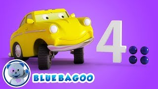 Babies and Toddlers Learning Numbers Song | Ed the Hungry Car | by Blue Bagoo Kids Songs