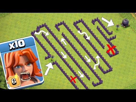 "MAZE TROLL CLAN WAR!?! "" Clash of clans "" TROLL BROS IS BACK!!!"