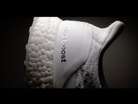Adidas Ultra Boost Triple White 30 Commerical
