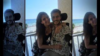 Woman Nude quadriplegic