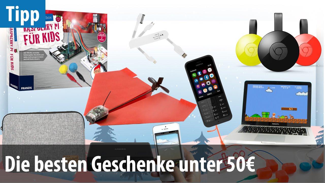 die besten technik-geschenke unter 50 euro (2015) | deutsch / german