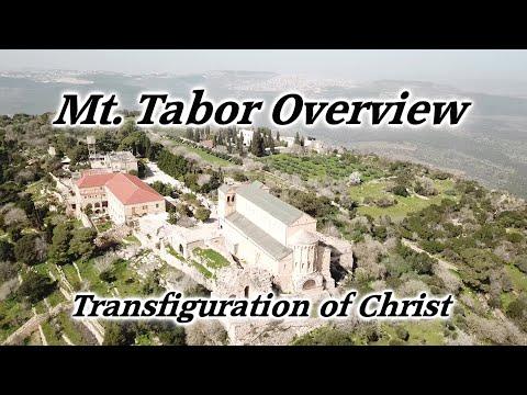 Mt. Tabor Overview Tour: Transfiguration Of Christ, Israel, Matthew 17:1–8, Mark 9:2–8, Luke 9:28–36