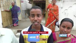 TN plus two toppers 2016 | News7 Tamil