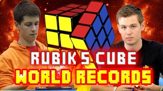 Rubik's Cube World Records 2017 - February Update