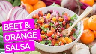 Roasted Beet & Orange Salsa Recipe