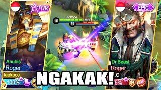 vuclip NGAKAK! ROGER STARLIGHT VS ROGER EPIC KUATAN MANA? -  Mobile Legends Indonesia