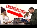 EMBARRASSING RINGTONES IN THE LIBRARY PRANK