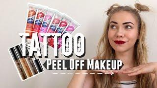 huuli ja kulmasvytteet testiss peel off makeup review swatches
