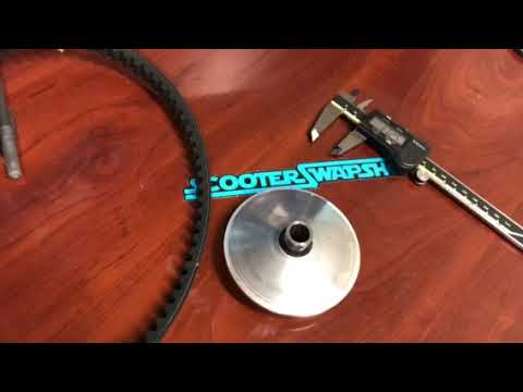 The effects of belt wear and how to test on scooter
