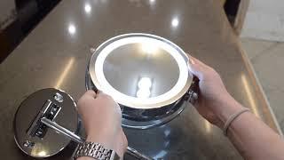 Обзор зеркала с LED-подсветкой