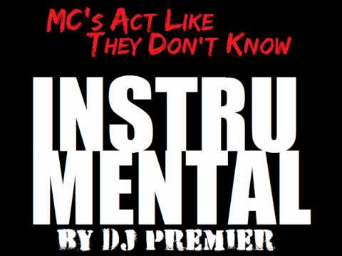 KRS ONE - MC's Act Like They Don't Know [Instrumental]
