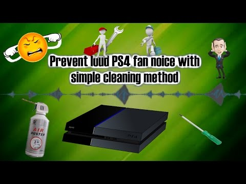 Prevent loud PS4 fan noise with simple cleaning method