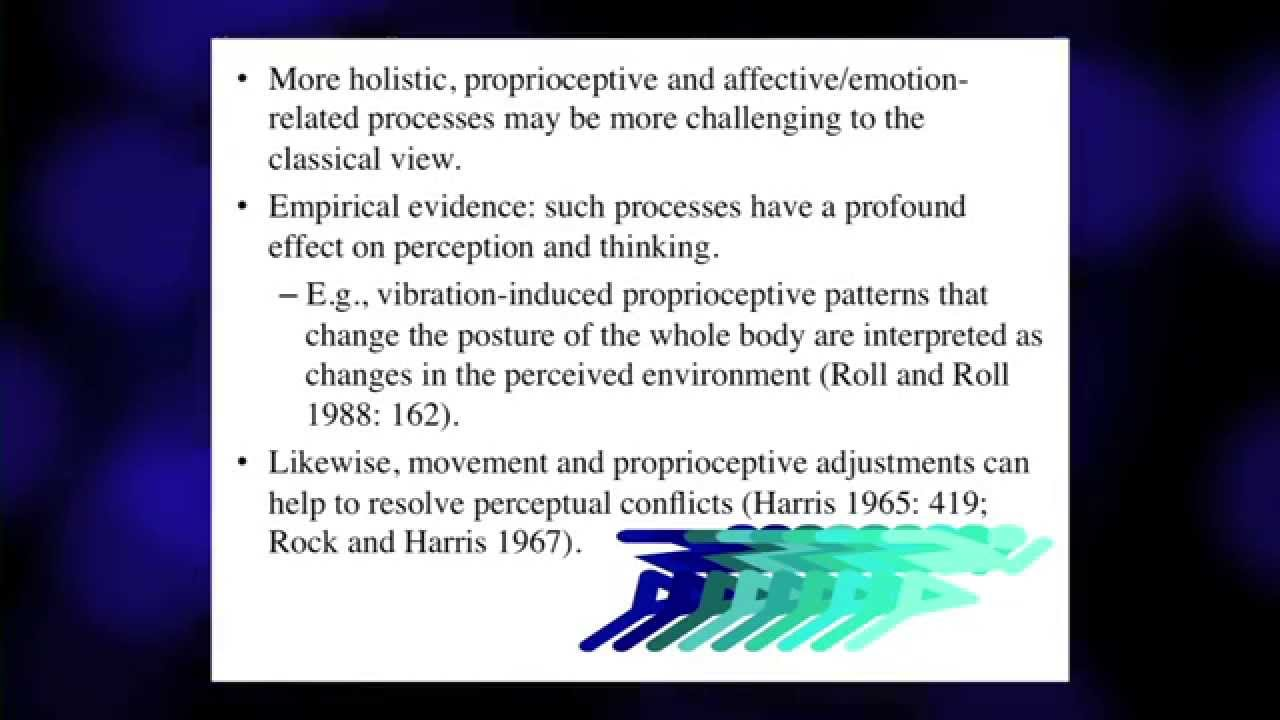 Embodied Cognition by Prof. Shaun Gallagher