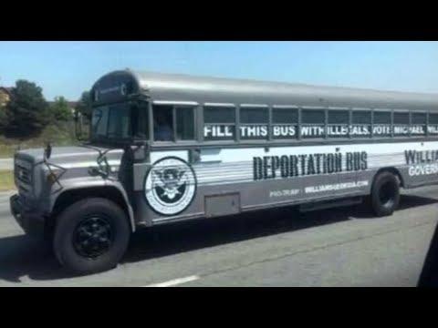 Georgia Gov Candidate Runs 'Deportation Bus' Ad