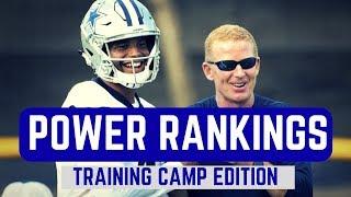 NFL 2017 Power Rankings | Training Camp Edition