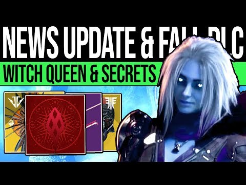Destiny 2 | CONTENT UPDATES & QUEENS CURSE! Fall DLC, Activision News, Secret Triumphs & Vow Weapon! thumbnail