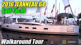 2016 Jeanneau 64 Sailing Yacht - Deck, Exterior, Interior Walkaround - 2015 Annapolis SailBoat Show