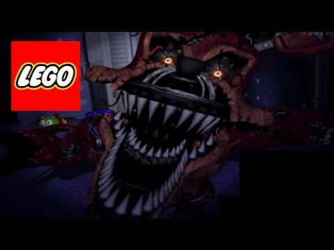 How to build lego five nights at freddy s 4 nightmare foxy